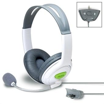 """Bild av """"Stort headset för xbox 360 grå"""""""