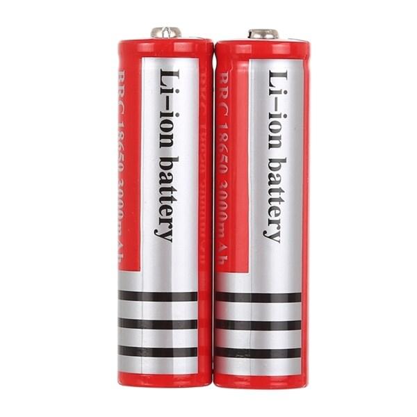Batteri 18650 3000mAh 3.7V 2 Pack Köp på 24.se