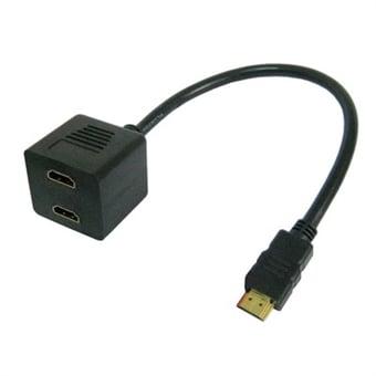 """Bild av """"HDMI adapter 19 pin hona hona kontakter"""""""