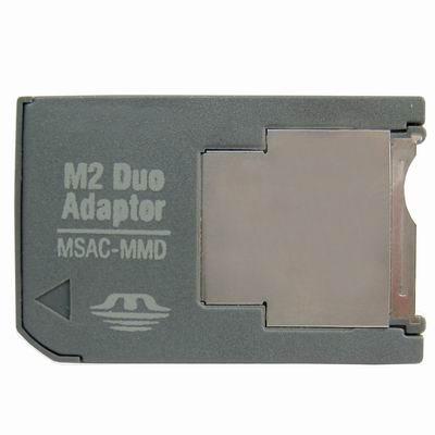 M2 Memory stick till MS Pro Duo Adapter