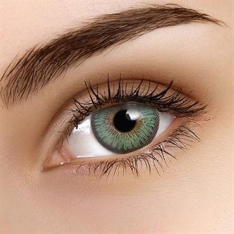 gröna linser utan styrka