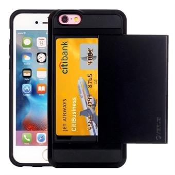 Skal med kortfack iPhone 6 Plus   6s Plus - Köp på 24.se 7441b74e5889c