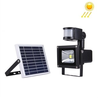 Toppen Solcellcells driven LED Lampa Utebelysning 10W med rörelsesensor - Köp NI-99