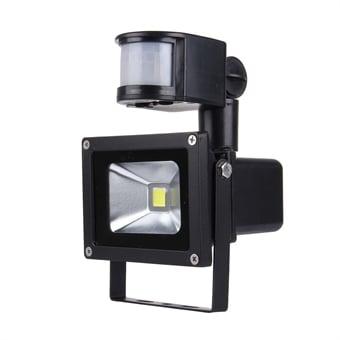 Helt nya Solcellcells driven LED Lampa Utebelysning 10W med rörelsesensor - Köp QM-96