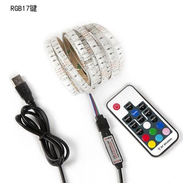 Kanon RGB Led Slinga USB med fjärrkontroll - 5 meter Vattentät - Köp på 24.s JC-31