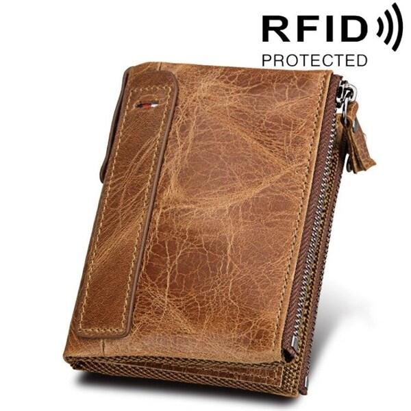 plånbok med många fack