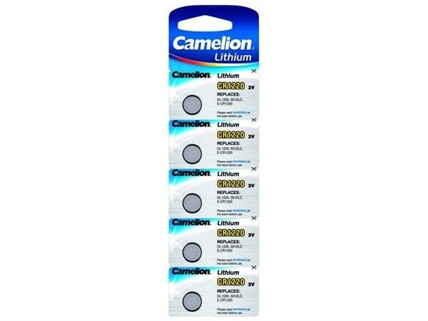 Camelion CR1220 / DL1220 Knappcellsbatteri 5-pack