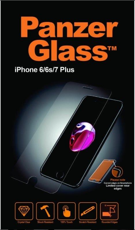 Apple PanzerGlass Screenprotector iPhone 6 Plus / 6S Plus / 7 Plus / 8 Plus