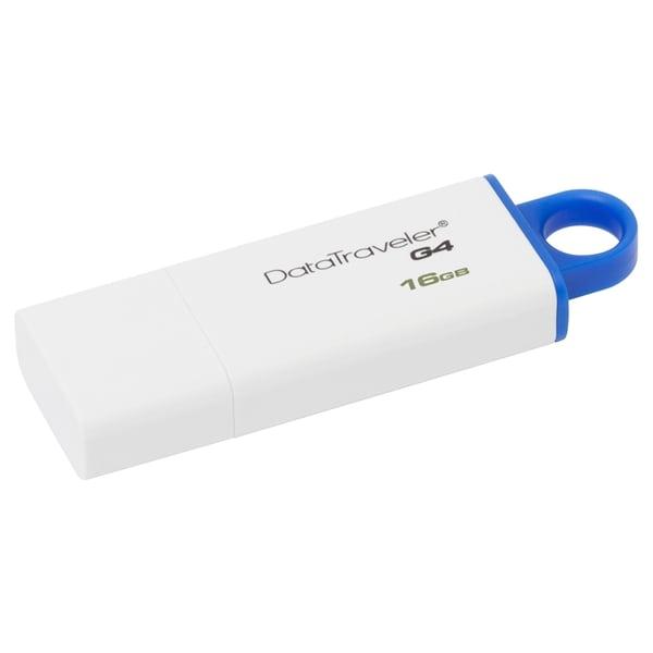 Kingston DataTraveler G4 16GB vit/Blå