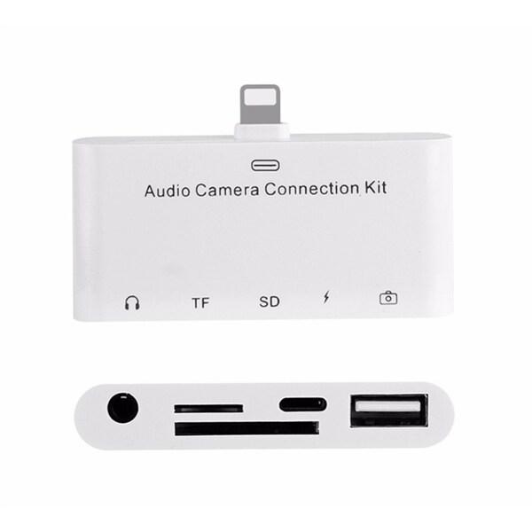 Apple 5-i-1 HUB/Adapter till iPhone, iPad, iPod