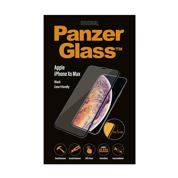 Apple PanzerGlass Curved Edges Screenprotector iPhone XR Black