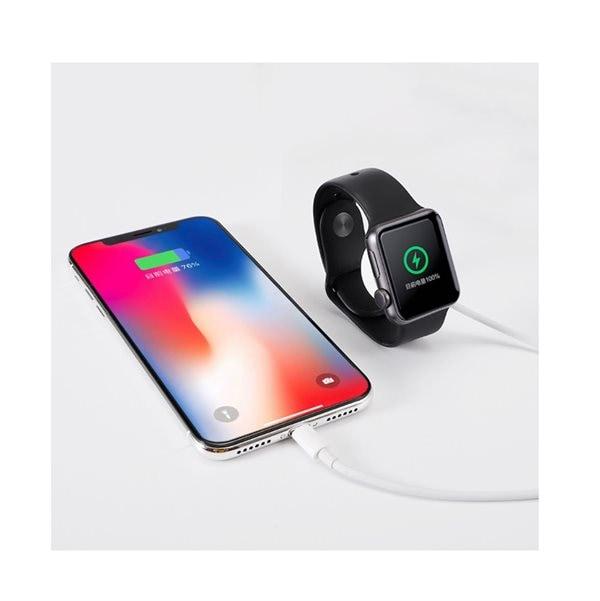2i1 Laddare Apple klocka och iPhone Mobiltelefon Köp på 24.se