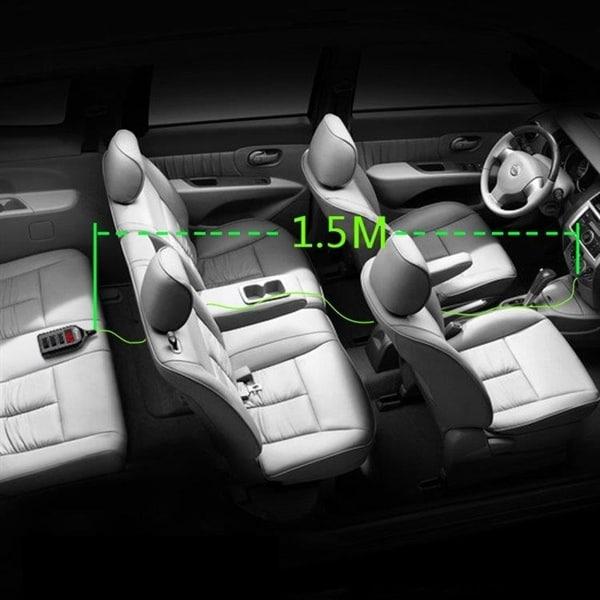 Usbladdare bil + Bluetooth + Voltmätare Köp på 24.se