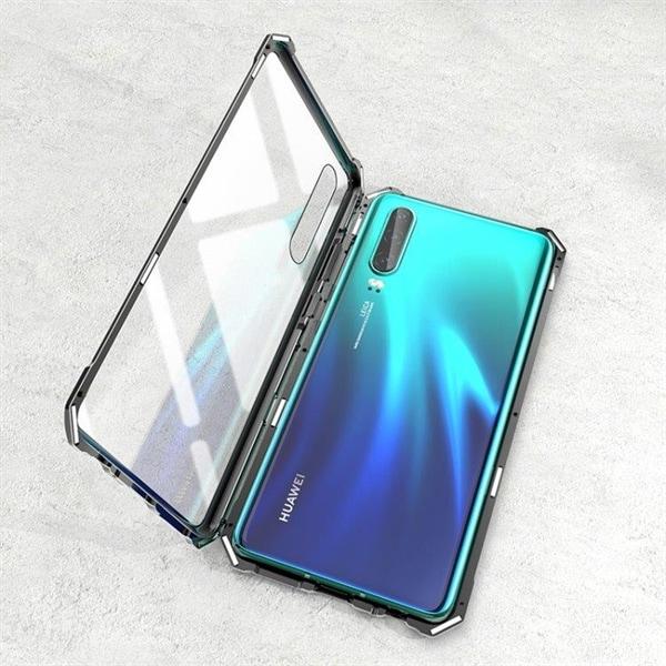Ultratunt magnetiskt skal i härdat glas till Huawei P30 Pro Köp på 2