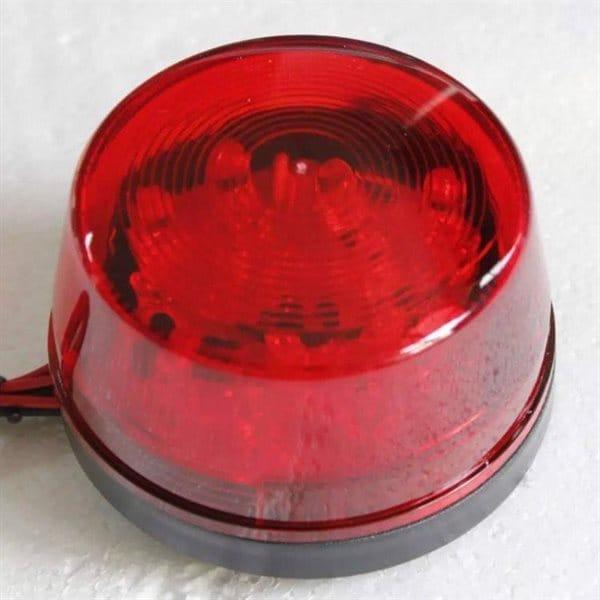 Vattentät varningslampa LED magnet och krok e