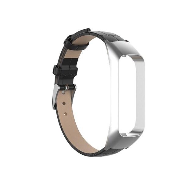 Armband i läder Samsung Galaxy Fit e Svart Köp på 24.se