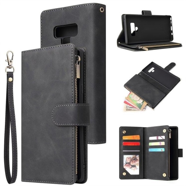 Flipfodral för Samsung Galaxy Note 9 med kort & myntfack Köp på 24.
