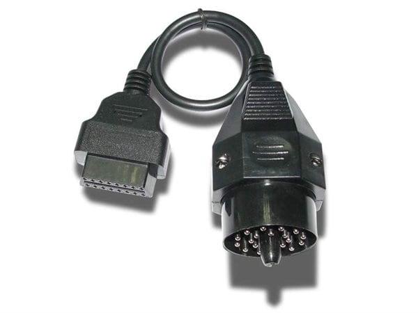 """Bild av """"Mercedes MB 38 pin kontakt till OBD2"""""""