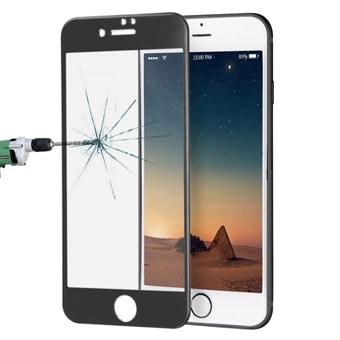 Böjt härdat fullskärmsskydd i glas till iPhone 8 Plus   7 Plus - Svart a191dddb6bb48