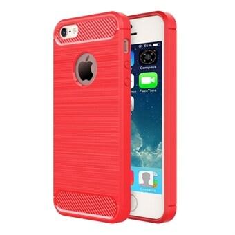 Borstat Armor Case iPhone SE   5s   5 - röd färg 1dc105a765172