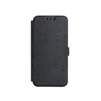 Flip Fodral   Smart Pocket till iPhone 5  5S - Svart e3fe08610d5fa