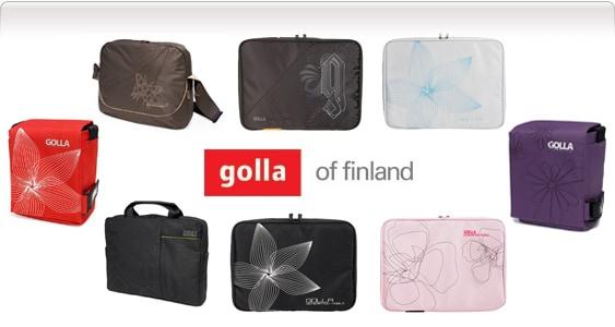 Datorväskor från Golla - 2010 Kollektion