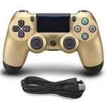 Gamepad i guld till Sony playstation4 / PS4 - Kabelansluten