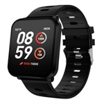K10 Smartwatch IP68 Svart