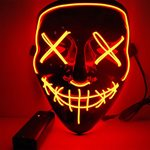El wire purge led mask - Orange